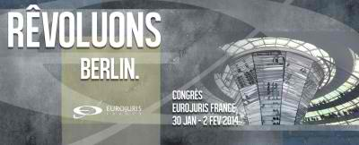 Le congrès EUROJURIS FRANCE 2014 à Berlin